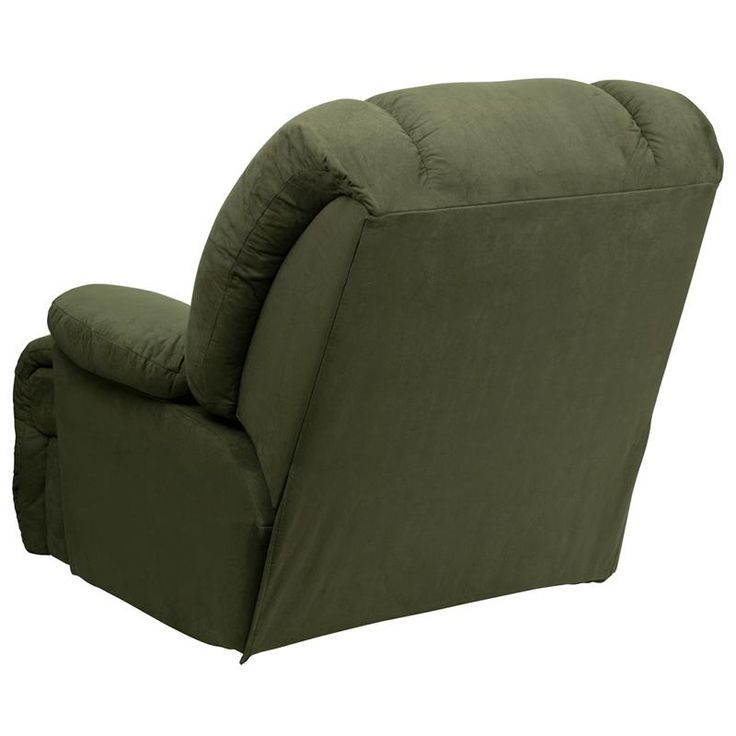 Microfiber Stylish and Comfortable Chaise Rocker Recliner Olive Green colored Microfiber upholstery High Quality Leggett and Platt mechanisms  sc 1 st  Pinterest & 111 best STYLISH RECLINERS images on Pinterest | Office chairs ... islam-shia.org