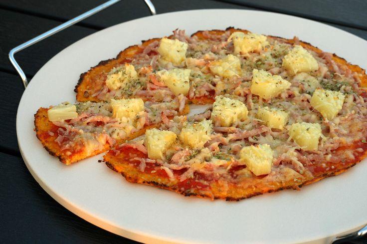 Lav en sund pizzabund. Her finder du opskriften på en sund og lækker gulerodsbund. Den er super nem at lave.