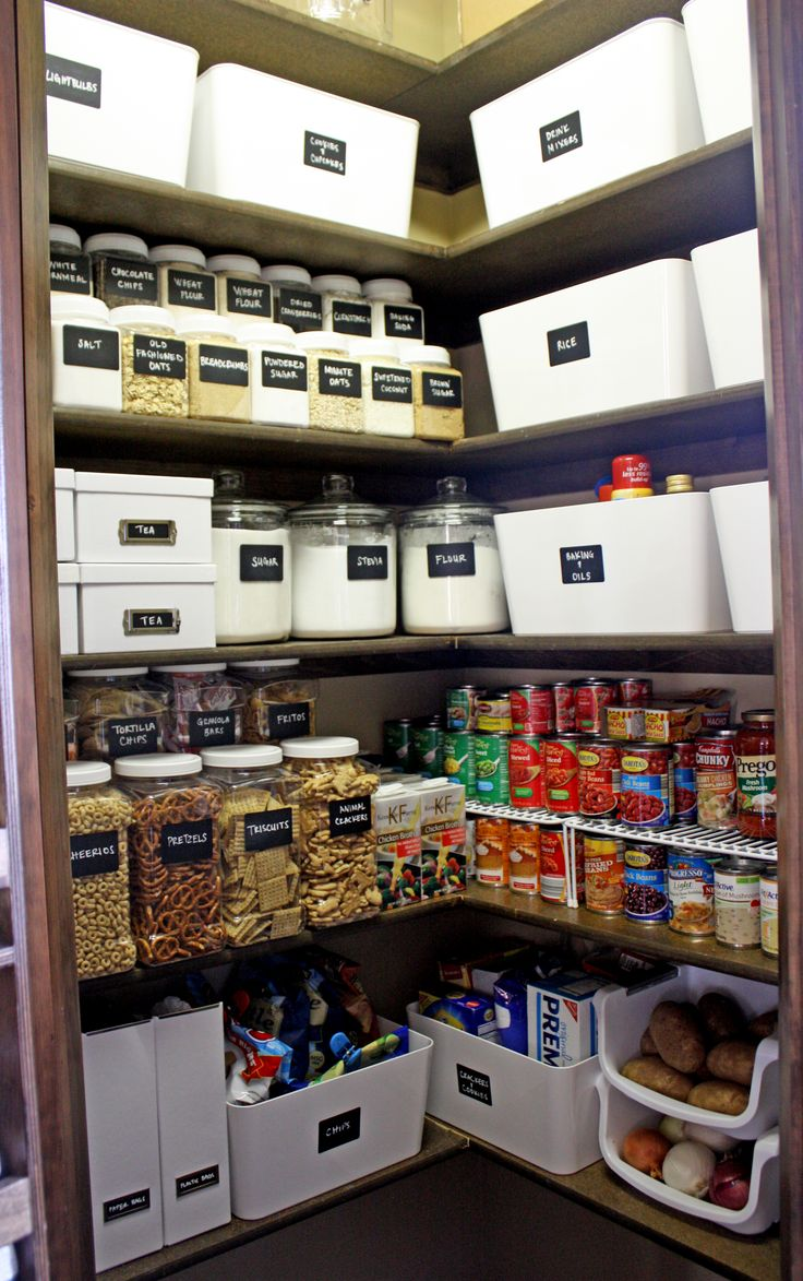 Well organised pantry!