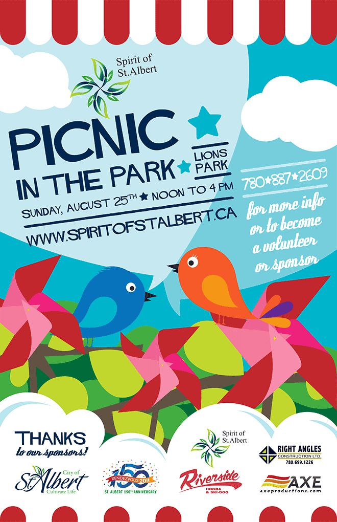Picnic in the Park 2013 - August 25th Noon-4