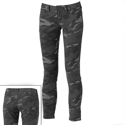 Mudd Camo Jeggings - Juniors