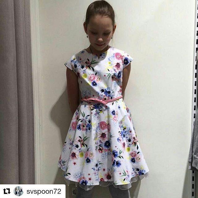 Платье с цветочным принтом из новой коллекции #SilverSpoonCasual завоевывает сердца наших покупателей!    #весналето2017_дети #детскаямода_весналето #красивоеплатье_дети #модадлядевочки #стильнаяодежда_дети #платье #цветочныйпринт #весна #весенняямода #детскийфэшн #длядочки