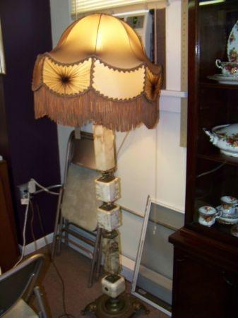 Beautiful Vintage Marble Lamp