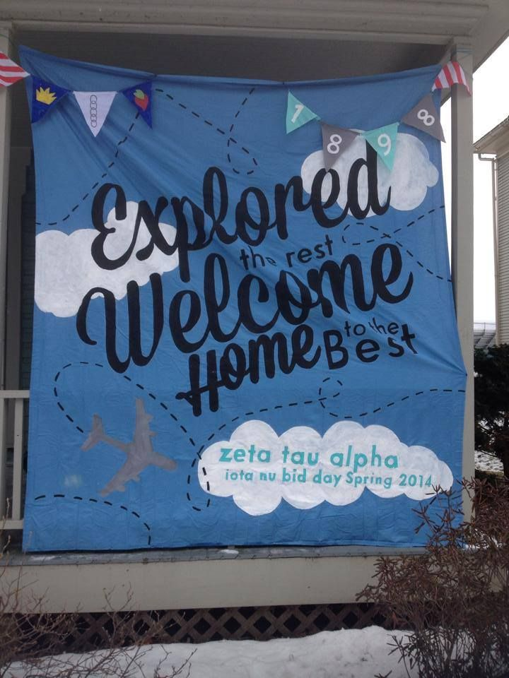 explored the rest, welcome home to the best | #ZTA #ZetaTauAlpha