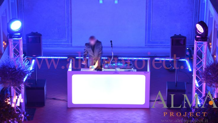 ALMA PROJECT @ Four Seasons Florence - Conventino - Moving Heads Wash & Spot_ Led Bars white console deejay3