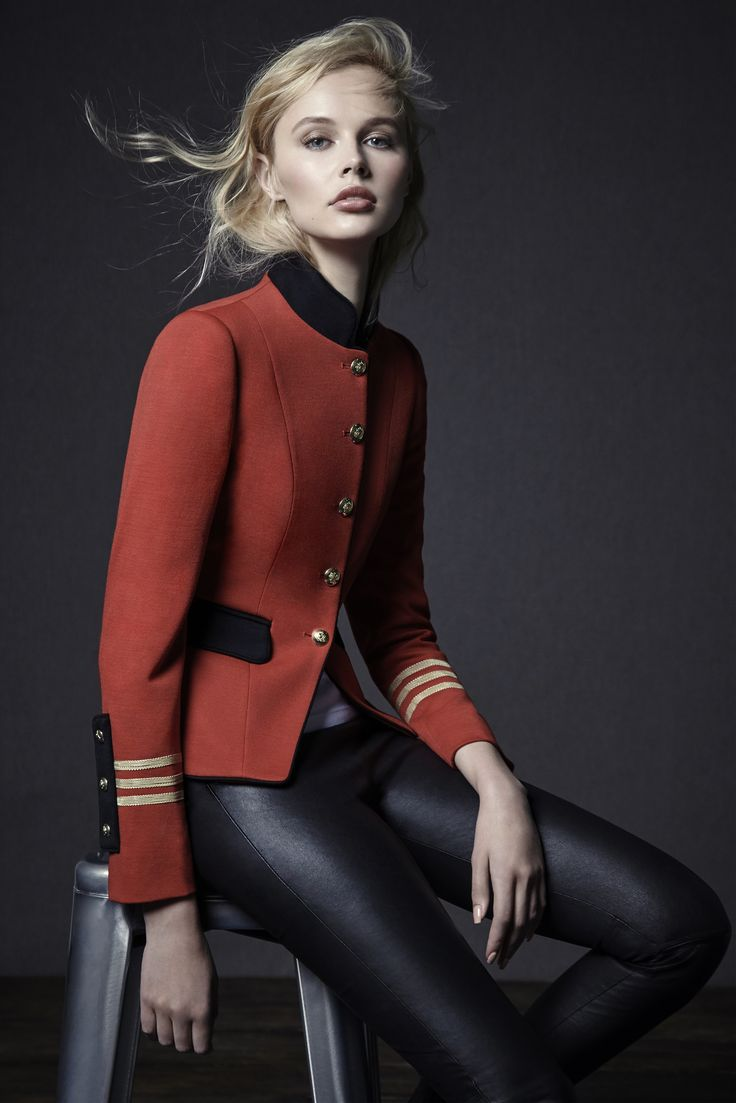 military chic by THE EXTREME COLLECTION. Unique Blazers 100% made in Spain
