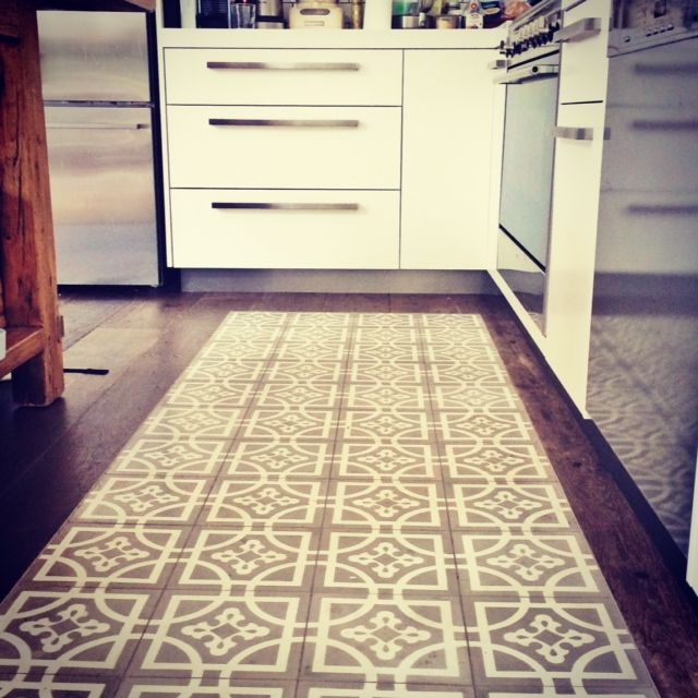 kitchen design tiles,oak floors, warmth and function dont be boring style it up, be brave