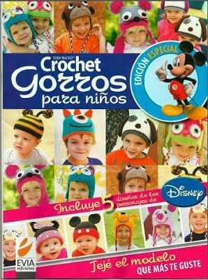 REVISTAS DE MANUALIDADES PARA DESCARGAR GRATIS: Revista Crochet/ganchillo