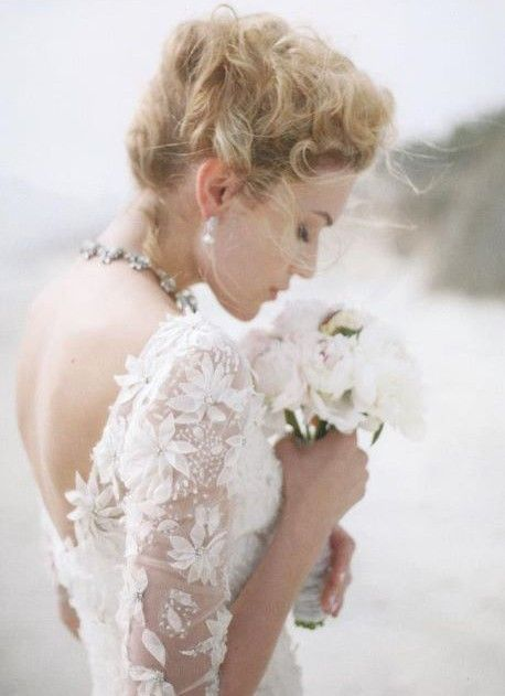 www.weddbook.com everything about wedding ♥  Embroidered Wedding Dress #wedding #fashion