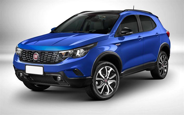 Download wallpapers Fiat Argo SUV, 4k, 2018 cars, crossovers, Argo SUV, Fiat
