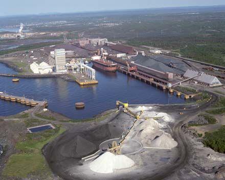 ArcelorMittal - Port Cartier industrial complex