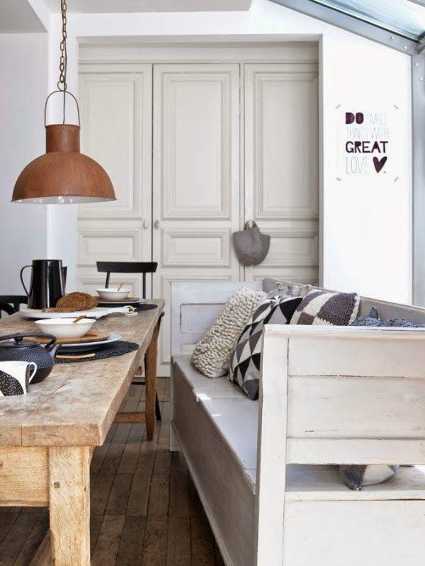 25+ ide terbaik Sitzbank Mit Lehne Esszimmer di Pinterest - sitzbank küche mit lehne