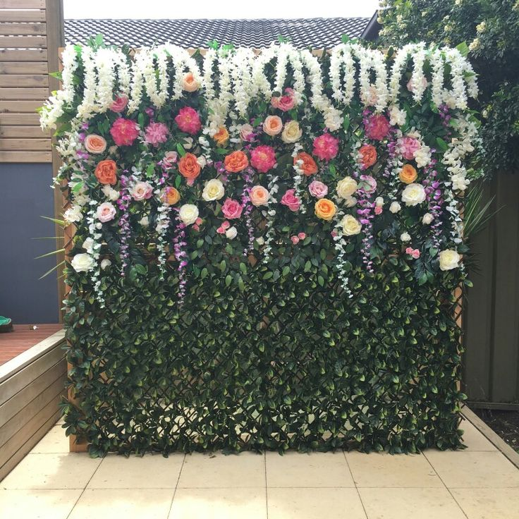 Flowerwall Floral Backdrops