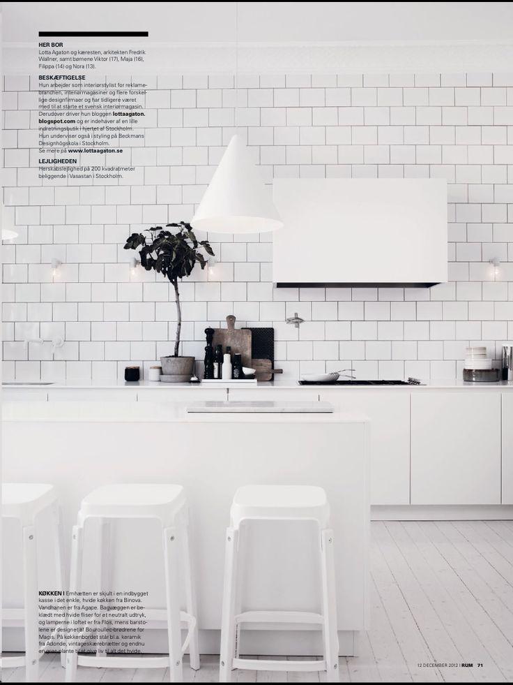 Lotta Agaton's kitchen photo by Pia Ulin