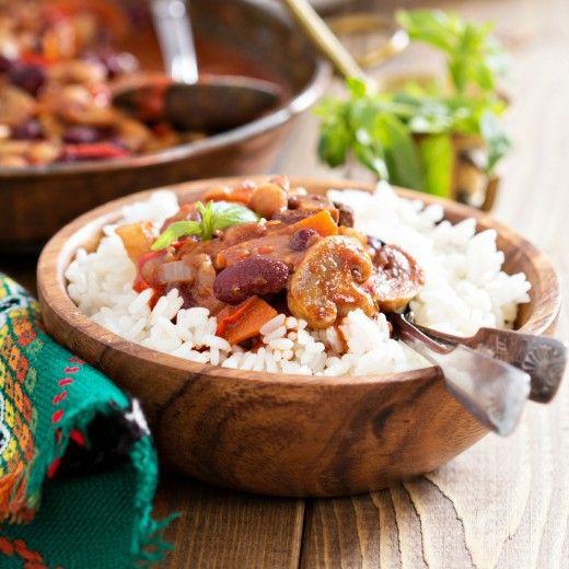 Рецепт - Вегетарианское чили