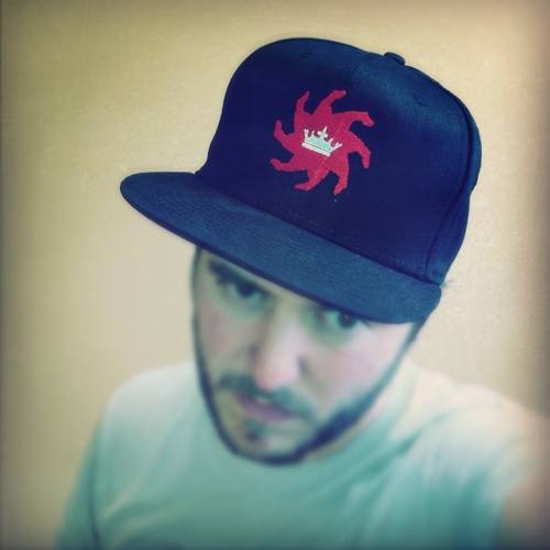 King of the Iron Thumb Cap | Black with Red