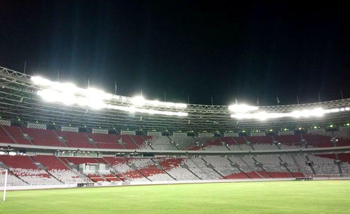Dibanggakan Jokowi, Lampu LED Stadion Utama GBK Diakui FIFA