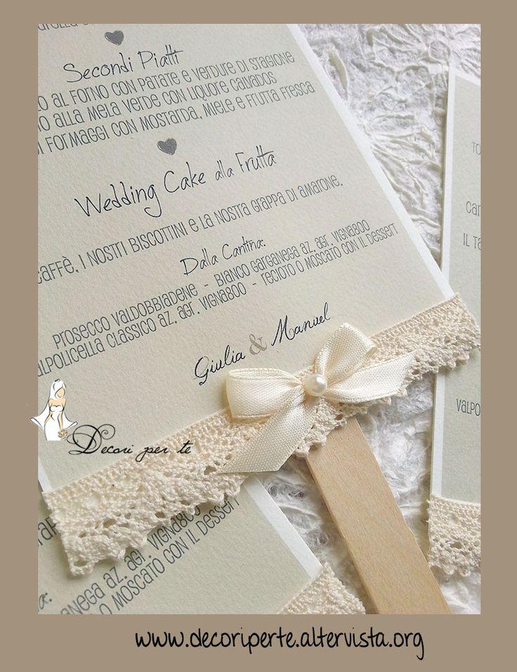 Menu Matrimonio Country Chic : Oltre fantastiche idee su perla color avorio