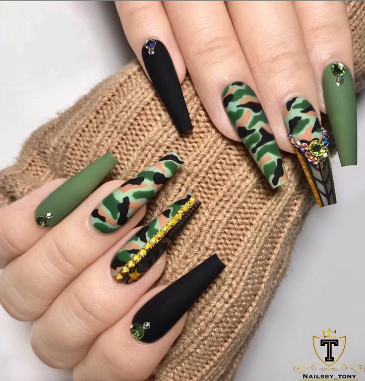 54 Hottest Trendy Acrylic Coffin Nails To Insprire You This Spring – Page 9 of 18