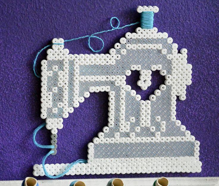 naaimachine van strijkkralen