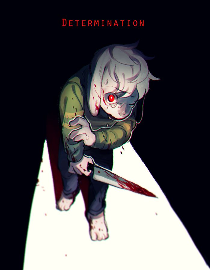 Genocide! Asriel Dreemurr/Chara   Artist Bam to Nuts (Bamto)