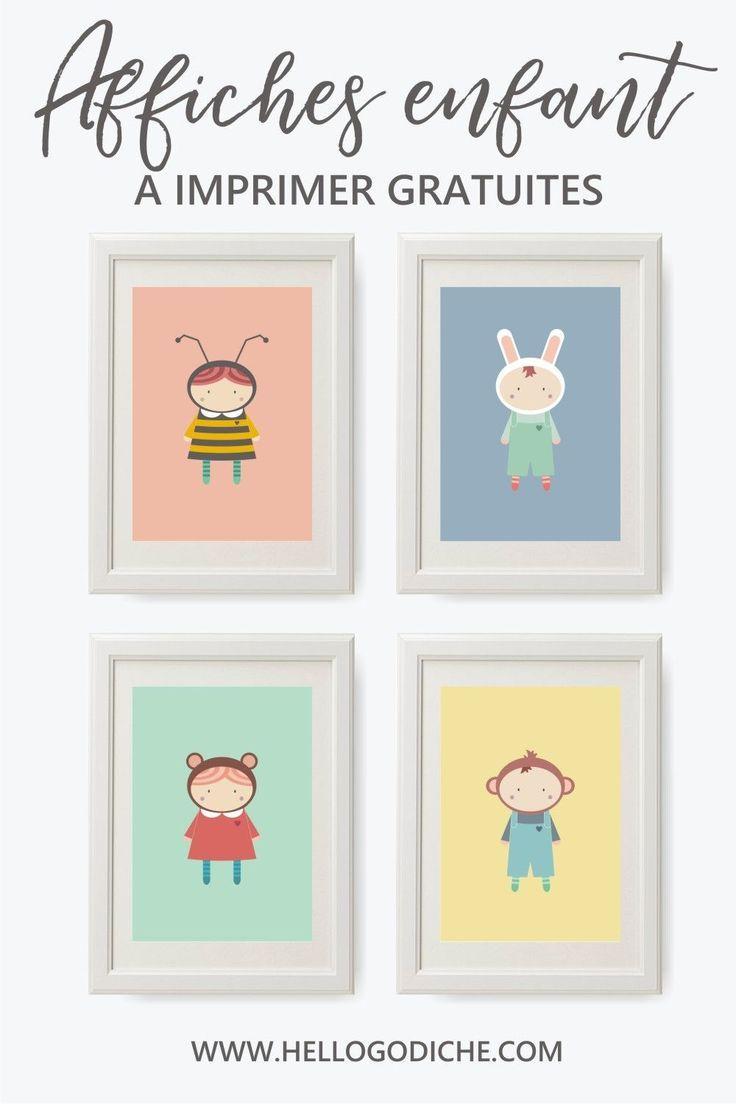 De Jolies Affiches Pour Enfant Colorees A Imprimer Pour Decorer La Chambre D Enfant Afficheenfant Af Poster Enfant Chambre Enfant Scandinave Affiche Enfant