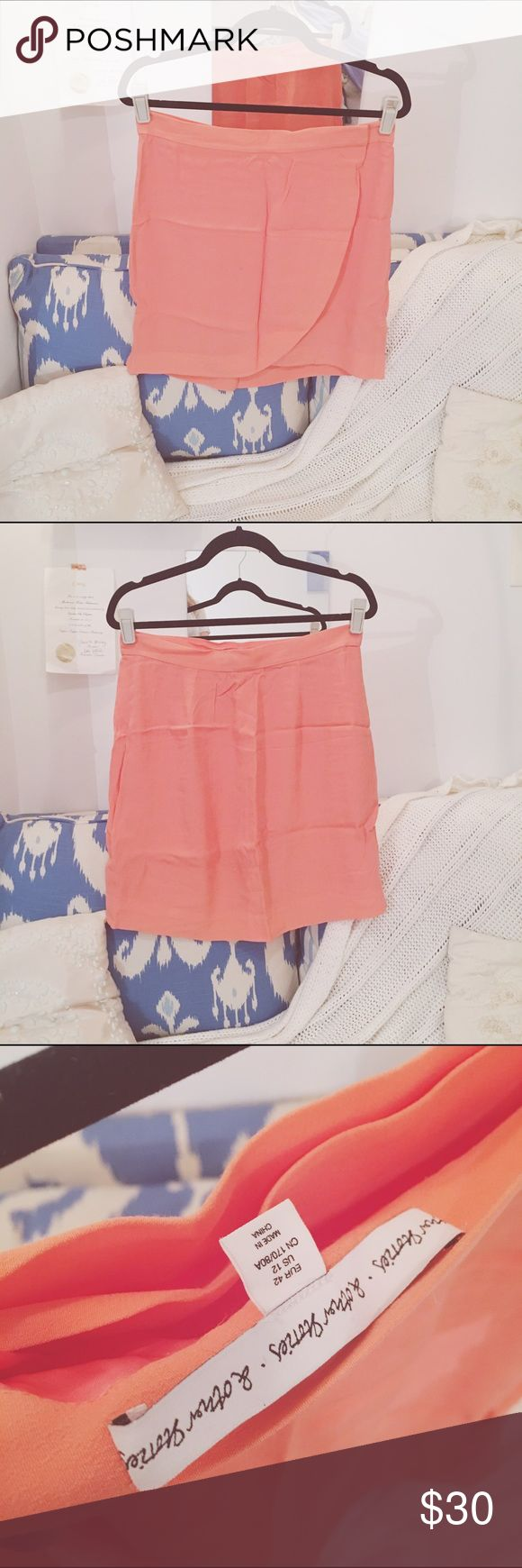 Salmon wrap skirt Wrap skirt from & other stories & other stories.  Skirts Mini