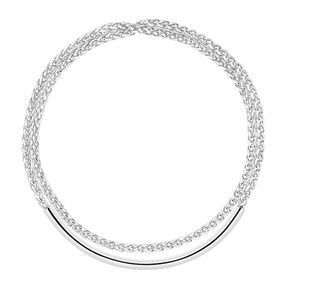 Christofle's perfect pairing: silver jewelry