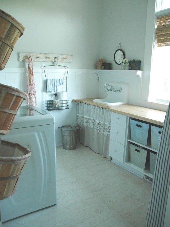 Laundry Room: Country Laundry Rooms, Bushel Baskets, Dreams Laundry Rooms, Laundry Rooms Storage, French Country, Laundry Rooms Design, Sinks, Rooms Ideas, Laundry Baskets