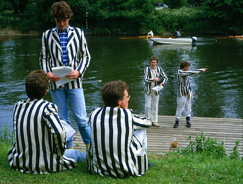 Eton College rowing blazers by Mark Draisey