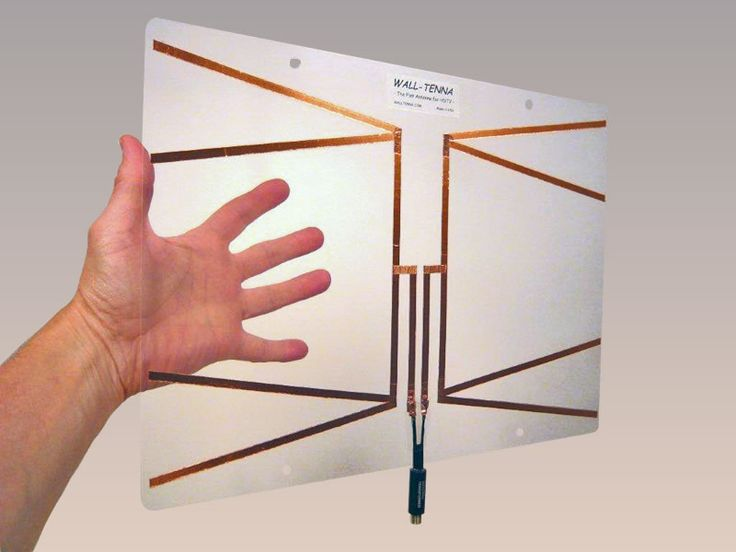 123 best hd antenna images on pinterest for Hdtv antenna template
