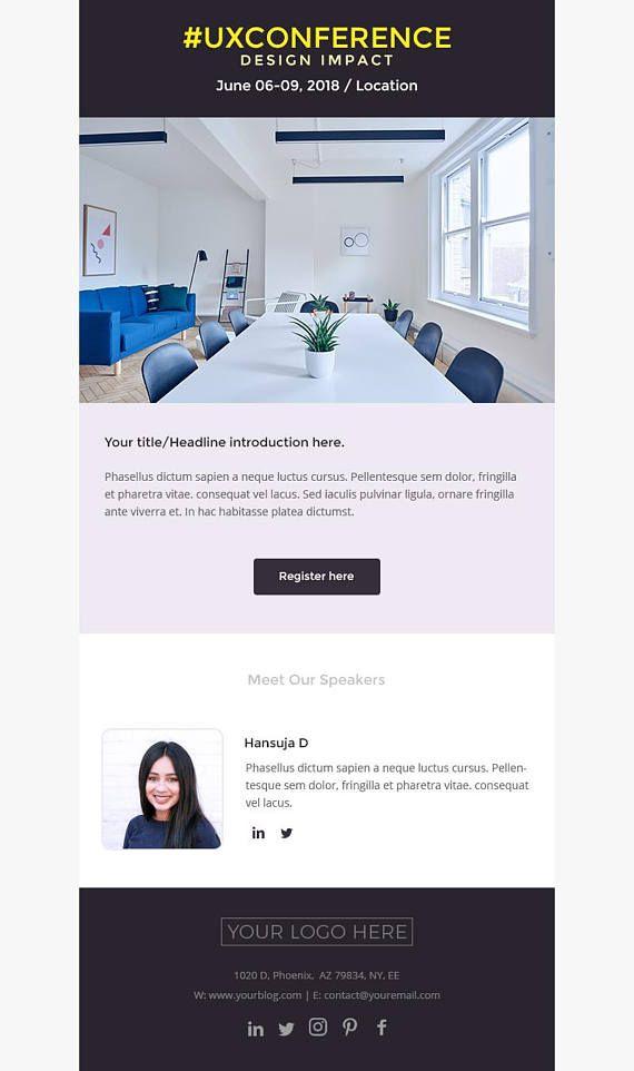 Mejores 9 imágenes de Mailchimp email templates en Pinterest ...