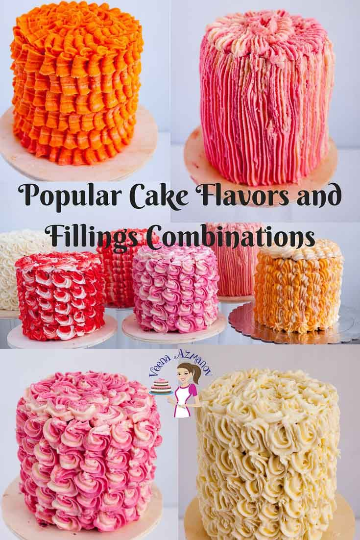 Pairing The Right Cake Flavors With The Right Filling And Frosting