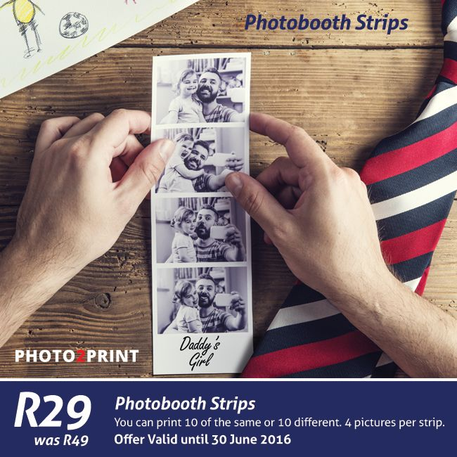 Payday Special: Create your own Photobooth Strips Online now. Offer valid until 30 June 2016, #special #payday #photoboothstrips #photo2print