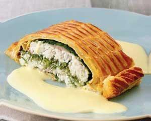 Sea Bass En Croûte With Mousseline Sauce Recipe on Yummly. @yummly #recipe
