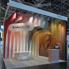 KriskaDECOR: Cool curtains for hot places - Cortinas metálicas de aluminio para interiorismo y arquitectura, personalizables en medidas y diseño