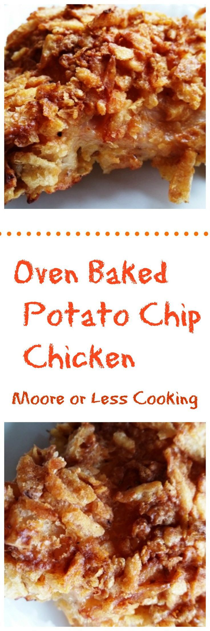 Oven Baked Potato Chip Chicken