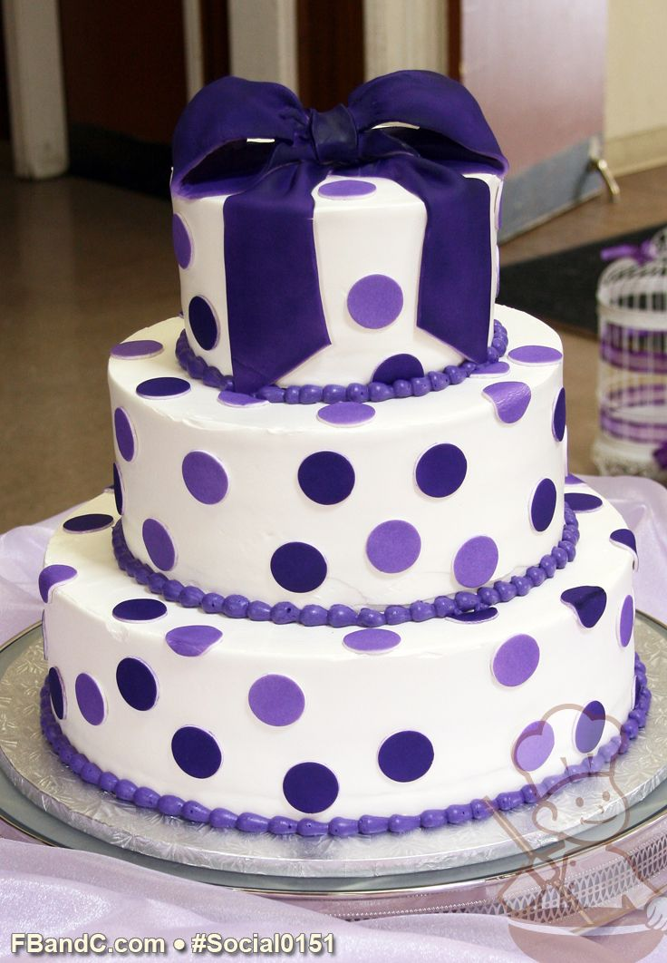 Purple Colour Cake Images : 39 best images about Purple Birthday Cakes on Pinterest ...