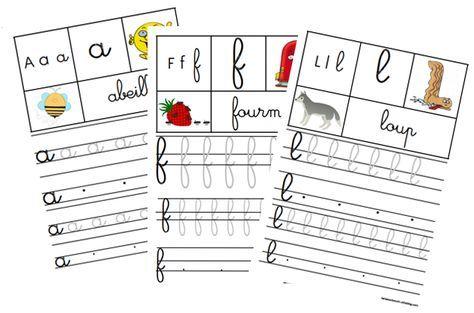fichier d'écriture cursive maternelle - La classe d'Eowin