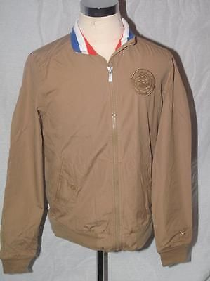 Nike #france men's harrington #khaki brown cotton football team #jacket size s-xx,  View more on the LINK: 	http://www.zeppy.io/product/gb/2/301137865052/