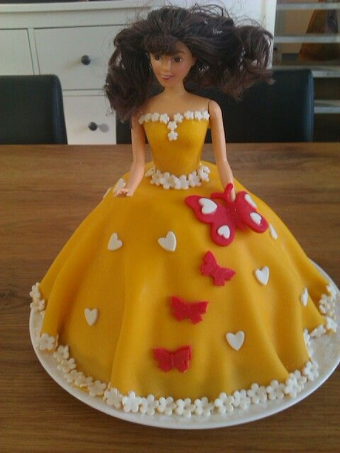 Verjaardagstaart prinses Carmen 2014 - Birthday cake princess
