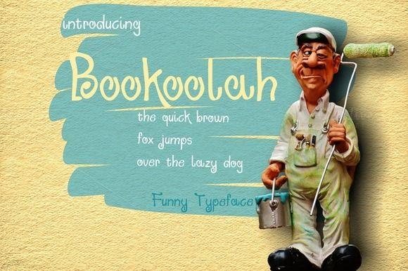 Bookoolah by MARSOSE on @creativemarket