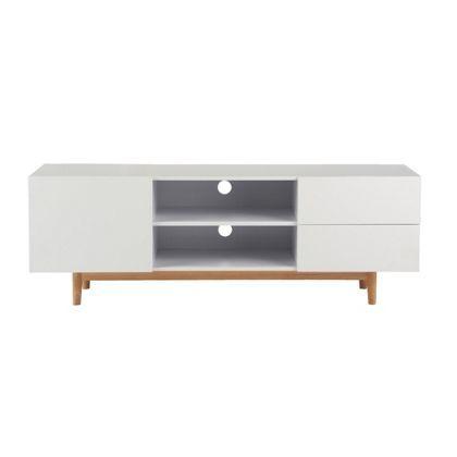 habitat marco white tv unit dan flat pinterest white. Black Bedroom Furniture Sets. Home Design Ideas