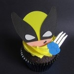 Wolverine cupcake from geeksweets.netSpecialty Cake, Cupcakes Inspiration, Wolverine Birthday Cupcakes, Wolverine Cupcakes, Super Heroes, Superhero Cake, Wolverine Cake, Cupcakes Wolverine, Birthday Ideas