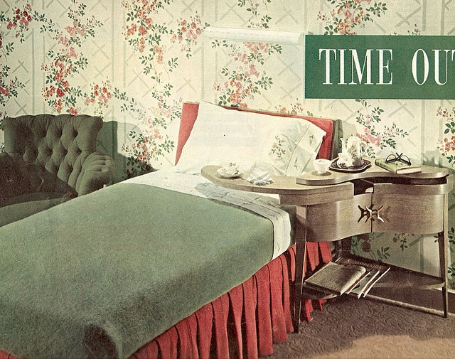 1940 Bedroom Decorating Ideas: 1940s Bedroom