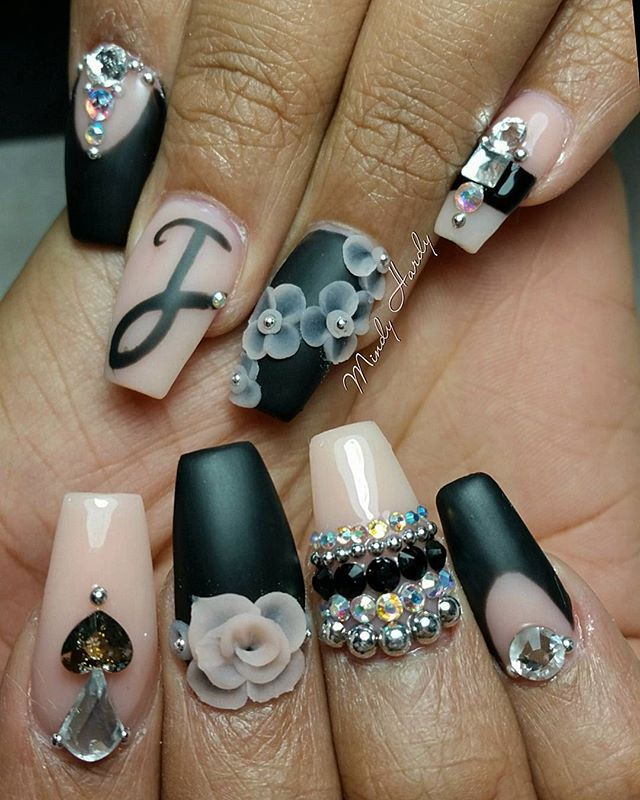 Mindy Hardy Nails On Instagram Mark It With A J Nails For My B M H Merakibeautystudio Merakibeautystudio Mera Short Gel Nails Matte Gel Polish J Nails