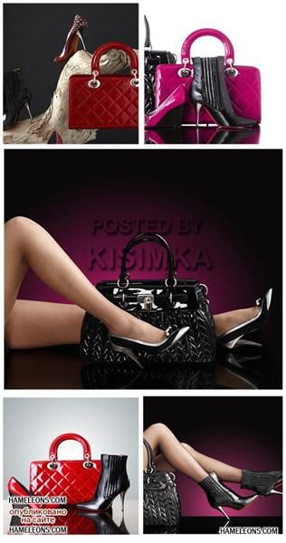 Стильная обувь клипарт