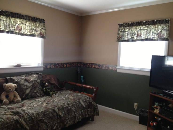 25 best ideas about camo bedrooms on pinterest camo rooms camo bedroom boys and camo boys rooms - Boys basement bedroom ...