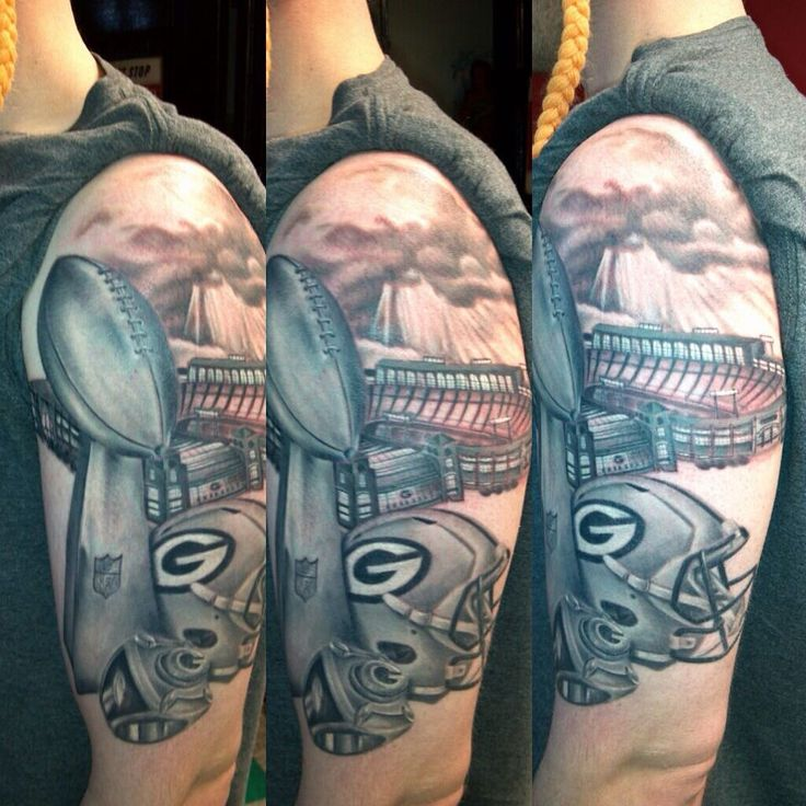 green bay packers tattoos