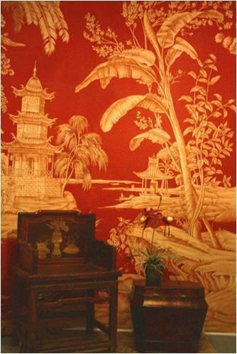 238 best asian influences images on pinterest for Asian mural wallpaper